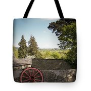 Wagon Wheel County Clare Ireland Tote Bag