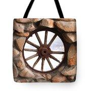 Wagon Wheel Window Tote Bag