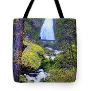 Wahkeena Falls Tote Bag