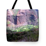 Waiamea Canyon Walls Tote Bag