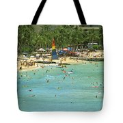 Waikiki Beach Tote Bag