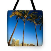 Waikiki Skyline Tote Bag