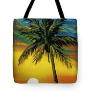 Waikiki Sunset #38 Tote Bag