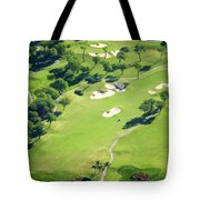 Wailea Gold And Emerald Courses Tote Bag
