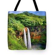 Wailua Falls Kauai Tote Bag
