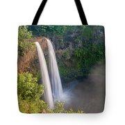 Wailua Falls - Kauai Hawaii Tote Bag