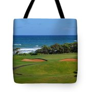 Wailua Golf Course - Hole 17 - 1 Tote Bag