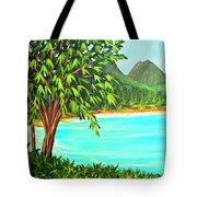 Waimanalo Beach Oahu #385 Tote Bag