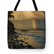Waimanalo Rainbow Tote Bag