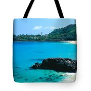 Waimea Bay Tote Bag