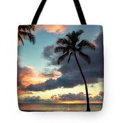 Waimea Beach Sunset 3 - Oahu Hawaii Tote Bag