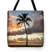 Waimea Beach Sunset - Oahu Hawaii Tote Bag