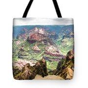 Waimea  Canyon Splendor,  Tote Bag