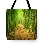 Waimoku Bamboo Forest Tote Bag