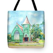 Wai'oli Hui'ia Church Tote Bag