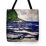 Waipio Valley  Beach Tote Bag