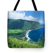 Waipio Valley Lookou Tote Bag