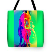 If You Can Wait For The Horse To Appear  Tote Bag