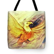 Wait Upon The Lord Tote Bag