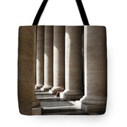 Waiting At St Peter's Tote Bag by Julian Perry
