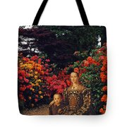 Waiting By The Path Tote Bag