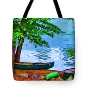 Waiting By The River Tote Bag