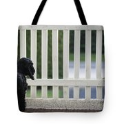 Waiting Tote Bag by Camilla Brattemark