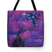 Waiting Flower Tote Bag