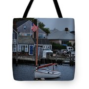 Waiting For A Captain Tote Bag