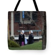 Waiting For A Friend Tote Bag