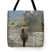 Waiting For A Meal Tote Bag