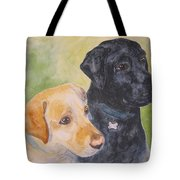 Waiting For A Treat Tote Bag