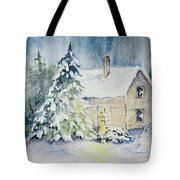 Waiting For A Visitor Tote Bag