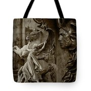 Waiting For Alexander - Heroes And Gods - Brown  Tote Bag