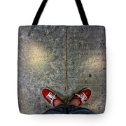 Waiting For Clown School Tote Bag