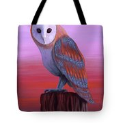 Waiting For Dusk Tote Bag