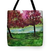 Waiting For Friends Tote Bag