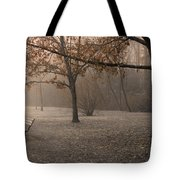 Waiting For God Tote Bag