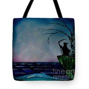 Waiting For Life's End Tote Bag
