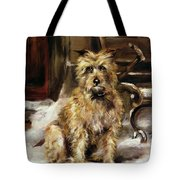 Waiting For Master   Tote Bag by Jane Bennett Constable
