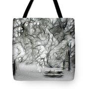 Waiting For Spring Tote Bag