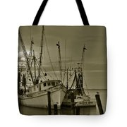 Waiting For The Big Catch  Tote Bag