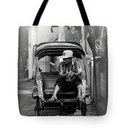 Waiting For The Customer Tote Bag