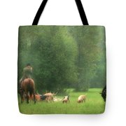 Waiting For The Hunt Tote Bag