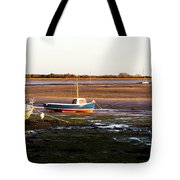 Waiting For The Tide Tote Bag by Trevor Wintle