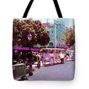 Waiting For Tourists Tote Bag