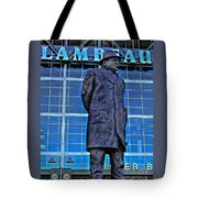 Waiting For Victory Tote Bag by Tommy Anderson