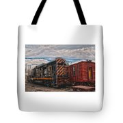 Waiting For Work Tote Bag