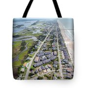 Waiting For You Topsail Island Tote Bag