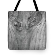 Waiting In Line Bw Tote Bag